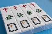 Mahjong tegels