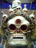 picture of ulaanbaatar  - Mongolian Ongghot mask in the  - JPG