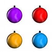 Fir Tree Balls
