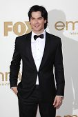 LOS ANGELES - SEP 18: Ian Somerhalder at the 63rd Annual Primetime Emmy Awards held at Nokia Theater
