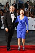 SANTA MONICA, CA - SEP 10: Gloria Estefan; Emilio Estefan at the 2011 NCLR ALMA Awards held at Santa
