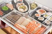 Takeaway Sushi Tray Closed