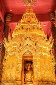 The Enshrining Of The Buddha Name Phra Chao Lan Ton In Wat Phra That Lampang Luang, Lampang Thailand poster