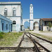 railway station, C�?�¡rdenas, Matanzas Province, Cuba
