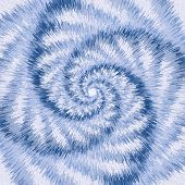 Spiral Motion Optical Illusion. Abstract Background.