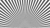 Sun Rays Background. Gray Radiate Sun Beam, Burst Effect. Sunbeam Light Flash Boom. Template Poster  poster