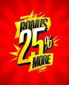 Bonus 25% more banner design concept, rasterized version poster