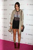 LOS ANGELES - NOV 16:  Jamie Chung arrives at the Google Music Launch at Mr. Brainwash Studio on Nov