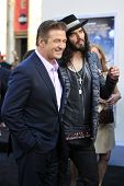 LOS ANGELES - JUN 8: Russell Brand, Alec Baldwin at the 'Rock of Ages' Los Angeles premiere held at