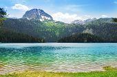 Paisagens de montanha, Parque Nacional de Durmitor, Montenegro