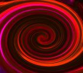 Red vortex background.
