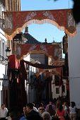 Street ornaments for the Corpus Cristi procession 13