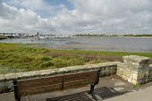 View Over The Lagoon Of Poole Harbour In Dorset On The South Coast Of England poster