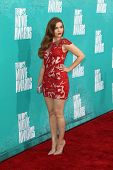 LOS ANGELES - JUN 3:  Holland Roden arriving at the 2012 MTV Movie Awards at Gibson Ampitheater on June 3, 2012 in Los Angeles, CA