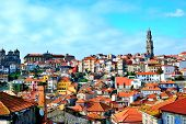 Porto, Northwest Of Portugal, At The Mouth Of The Douro River. poster