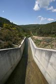 nice barrage in Portugal, electricity & energy concept
