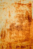 texture of old rusty metal surface
