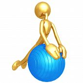 Pilates Physio Ball