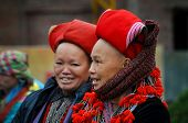 Red Dao woman with a turban. Sapa, Vietnam