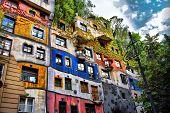 Hundertwasserhaus In Wien, Österreich