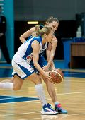 Ilona Korstin (white) Atack