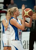 Tatiana Vidmer Atack. Captain Of Dynamo Msk Team