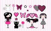 Little Emo Girls