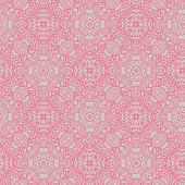 Retro background in pink colors.  Seamless pattern can be used for wallpapers, pattern fills, web page backgrounds, surface textures. Gorgeous seamless vintage background