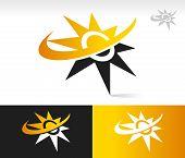 Sun Swoosh Icons