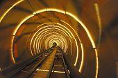 Shanghai Bund Tourist Tunnel poster