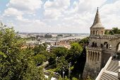 eurtopa, hungary, budapest, fisherman's bastion. one of the landmarks of the city.
