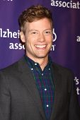 LOS ANGELES - MAR 20:  Barrett Foa arrives at the 21st Annual A Night at Sardi's to Benefit the Alzh