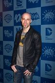 LOS ANGELES - MAR 21:  Chris Daughtry arrives at the Batman Product Line Launch at the Meltdown Comi