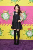 LOS ANGELES - MAR 23:  Erin Sanders arrives at Nickelodeon's 26th Annual Kids' Choice Awards at the