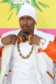 LOS ANGELES - MAR 23:  Nick Cannon arrives at Nickelodeon's 26th Annual Kids' Choice Awards at the U