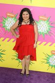 LOS ANGELES - MAR 23:  Raini Rodriguez arrives at Nickelodeon's 26th Annual Kids' Choice Awards at the USC Galen Center on March 23, 2013 in Los Angeles, CA