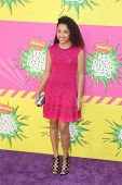 LOS ANGELES - MAR 23:  Jaylen Barron arrives at Nickelodeon's 26th Annual Kids' Choice Awards at the