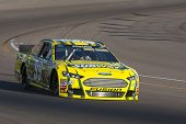 AVONDALE, AZ - MAR 01, 2013:  Carl Edwards (99) takes his car on the track and qualifies 15th for th
