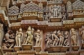 Sculptor Of Hindu Deities At Vishvanatha Temple, Khajuraho, India -unesco World Heritage Site.