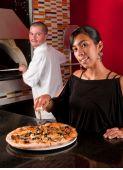 Glücklich Restaurant-Arbeiter