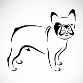 Vector Image Of An bulldog