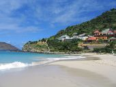 Flamands beach, St. Barts, French West Indies