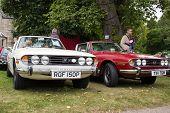 Classic Triumph Stag cars