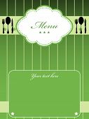 Green menu design