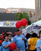 LOS ANGELES - OCT 6:  Atmosphere at the Light The Night The Walk to benefit the Leukemia-Lymphoma Society at Sunset-Gower Studios on October 6, 2013 in Los Angeles, CA