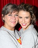 LOS ANGELES - OCT 6:  Char Griggs, Linsey Godfrey at the Light The Night The Walk to benefit the Leu