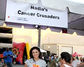 LOS ANGELES - OCT 6:  Nadia Bjorlin at the Light The Night The Walk to benefit the Leukemia-Lymphoma