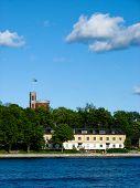 Swedish Island And Castle