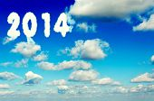 New Year In Clouds
