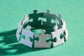 Puzzle Ring Shadow